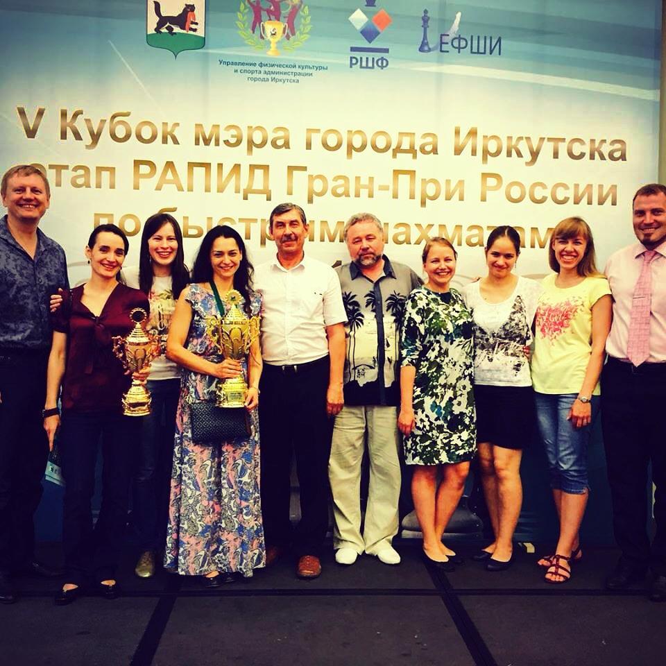 5-й Юбилейный Кубок Мэра г. Иркутска по быстрым шахматам